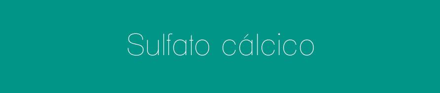 sulfato-calcico